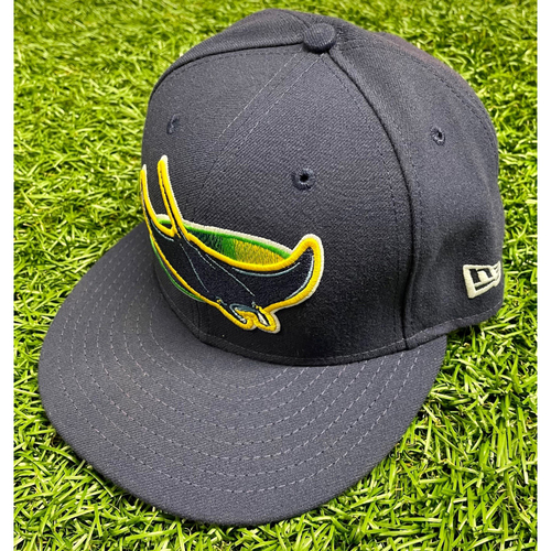 Photo of Team Issued Devil Rays Cap: Nate Lowe #35