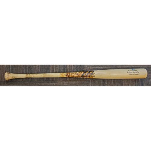 Anthony Santander Game-Used Broken Bat - April 13, 2021 vs. Seattle Mariners - Marucci, Pro Model, TB-16M
