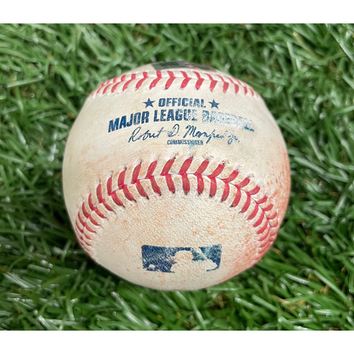 Photo of Game Used Baseball: Danny Mendick single off Adam Conley - Top 5 - August 22, 2021 v CWS