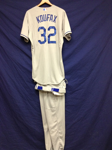 Kershaw's Challenge: Sandy Koufax Old Timers Uniform