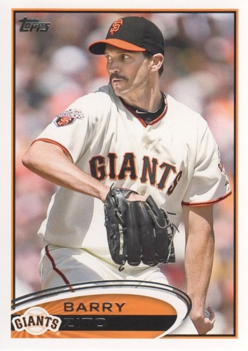 Photo of 2012 Topps #420 Barry Zito