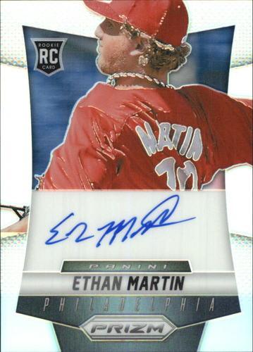 Photo of 2014 Panini Prizm Rookie Autographs Prizms #EM Ethan Martin