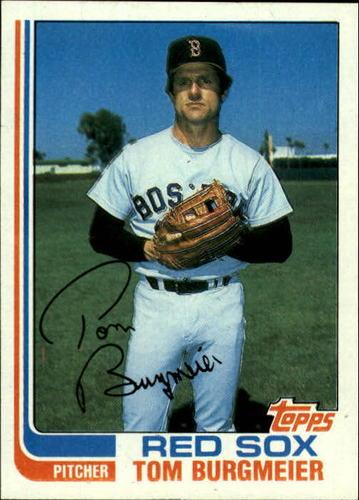 Photo of 1982 Topps #455 Tom Burgmeier