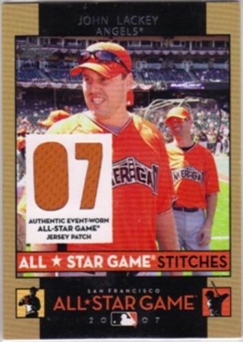 Photo of 2007 Topps Update All-Star Stitches #JL John Lackey