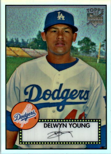 Photo of 2007 Topps 52 Chrome Refractors #88 Delwyn Young