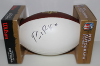 NFL - GIANTS PAUL PERKINS SIGNED PANEL BALL (SMUDGED SIGNATURE)