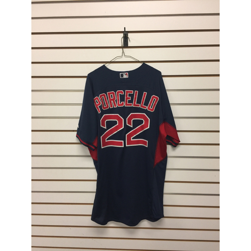 Rick Porcello Team-Issued Road Batting Practice Jersey