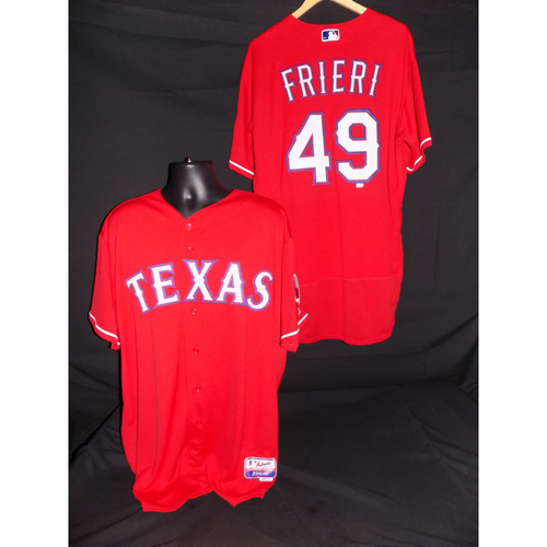 Photo of Ernesto Frieri Team-Issued Red Jersey - Size 48