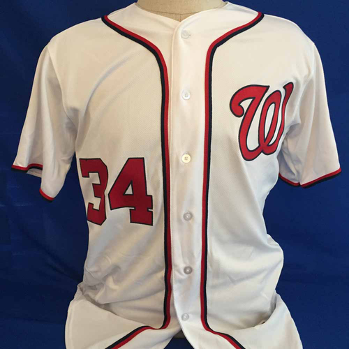 Photo of UMPS CARE AUCTION: Bryce Harper Nationals Jersey Size 44