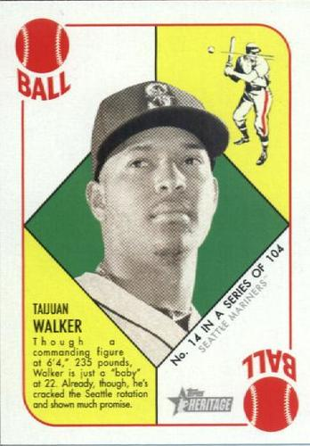 Photo of 2015 Topps Heritage '51 Collection #14 Taijuan Walker