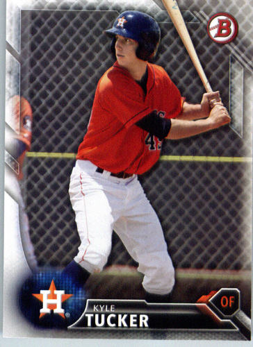 Photo of 2016 Bowman Prospects #BP60 Kyle Tucker