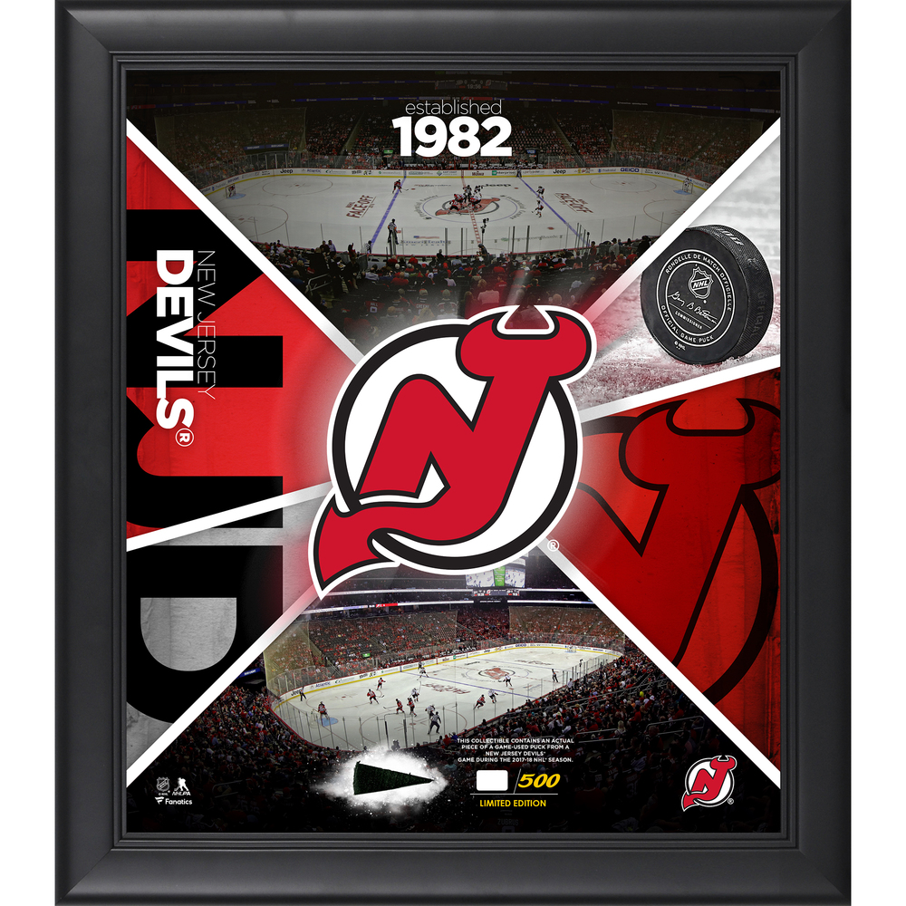 New Jersey Devils Framed 15