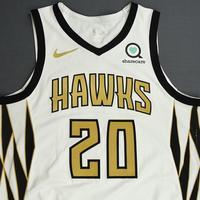 John Collins - Atlanta Hawks - Game-Worn City Edition Jersey - 2018-19 Season