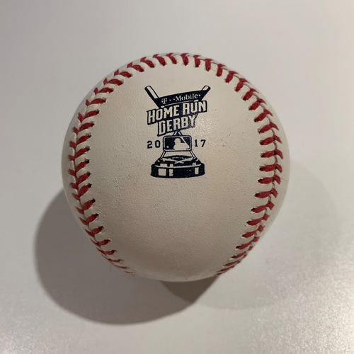 Photo of 2017 Home Run Derby - Game Used Baseball - Batter: Charlie Blackmon -  Round 1 Out