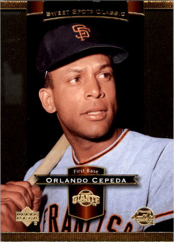 Photo of 2003 Sweet Spot Classics #64 Orlando Cepeda