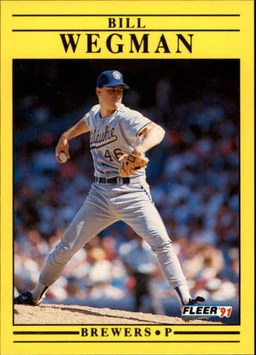 Photo of 1991 Fleer Update #35 Bill Wegman
