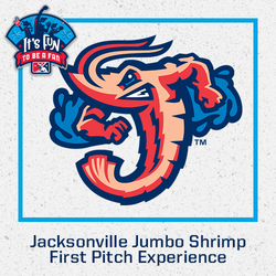 Photo of 2021 Jacksonville Jumbo Shrimp First Pitch Experience