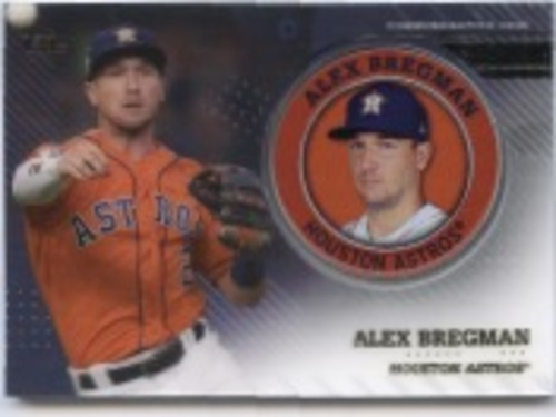 Photo of 2020 Topps Player Medallions #TPMAB Alex Bregman