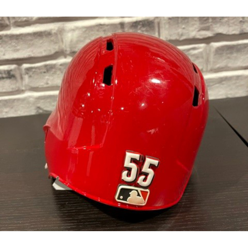 Photo of Robert Stephenson -- Team-Issued Helmet -- Left Ear Flap -- Size 7
