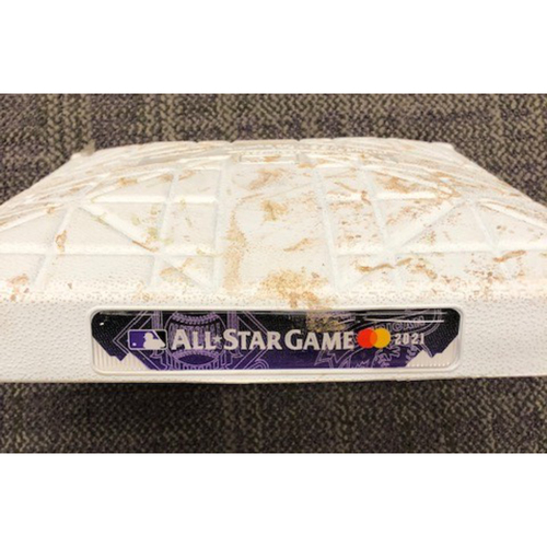 Photo of 2021 MLB All-Star Game: Game-Used 3rd Base: Innings 1-2