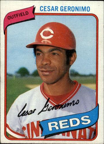 Photo of 1980 Topps #475 Cesar Geronimo