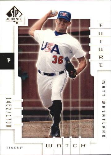 Photo of 2000 SP Authentic #141 Matt Wheatland FW RC
