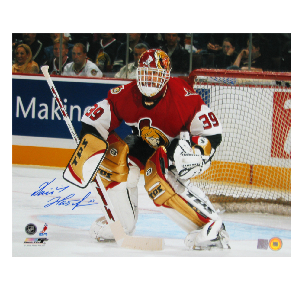 DOMINIK HASEK Signed Ottawa Senators 16 X 20 Photo - 79044