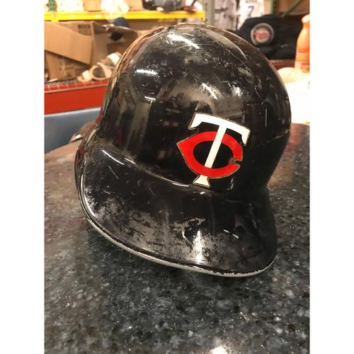 2017 Game-Used Helmet - Eduardo Escobar