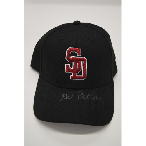 Photo of Gil Patterson - Signed & Game-Used Marjory Stoneman Douglas High School Hat - CHARITY AUCTION