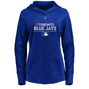 Toronto Blue Jays Authentic Collection Women's Team Drive Ultra Streak Fleece by Majestic