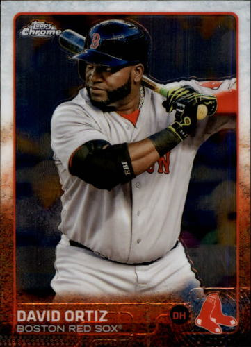 Photo of 2015 Topps Chrome #124A David Ortiz
