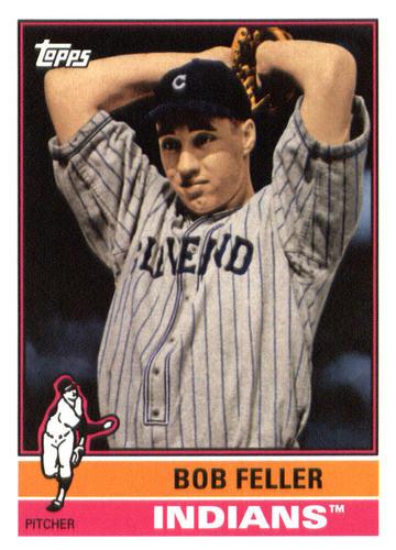 Photo of 2015 Topps Archives #154 Bob Feller