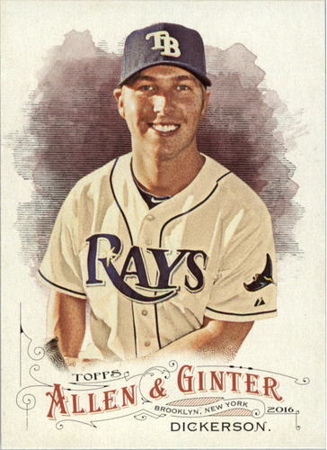 Photo of 2016 Topps Allen and Ginter #47 Corey Dickerson