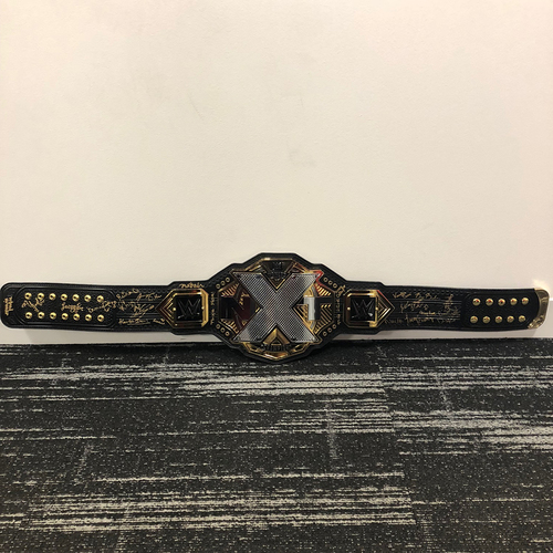 Photo of Autographed NXT Women's Championship Replica Title Belt (Signed by female roster)