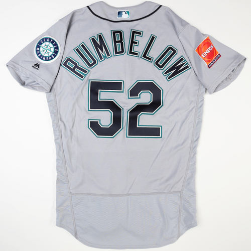 Photo of 2019 Japan Opening Day Series - Game Used Jersey - Nick Rumbelow, Seattle Mariners at Oakland Athletics -3/18/2019 , 3/20/2019