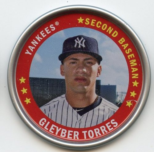 Photo of 2019 Topps Archives Coins #C23 Gleyber Torres