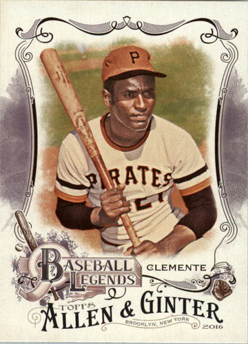 Photo of 2016 Topps Allen and Ginter Baseball Legends #BL9 Roberto Clemente