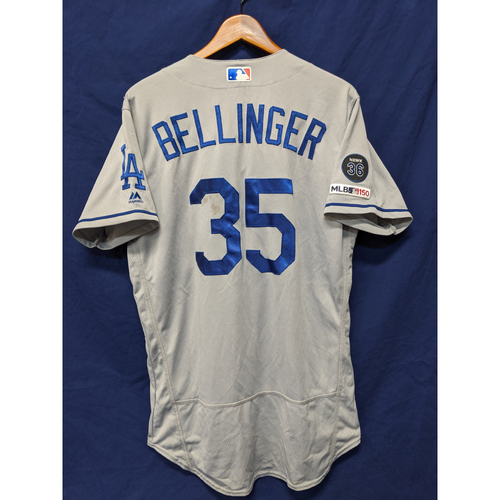 Photo of Los Angeles Dodgers Cody Bellinger Game-Used Road Jersey - 8/16/19 - 41st Home Run of 2019