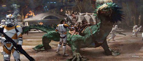 Obi-Wan Kenobi and Clone Troopers