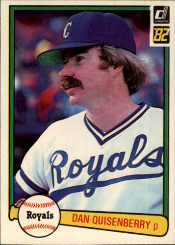 Photo of 1982 Donruss #112 Dan Quisenberry
