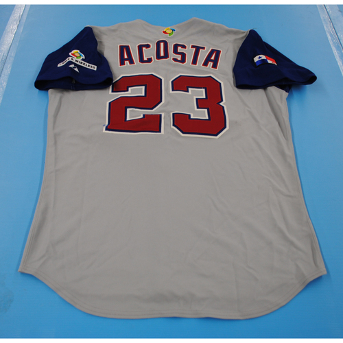 Photo of 2006 Inaugural World Baseball Classic: Manny Acosta Game-worn Team Panama Road Jersey