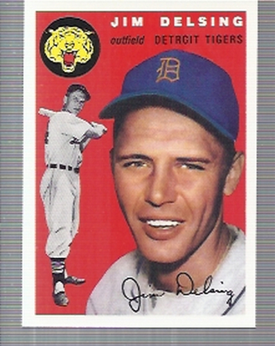 Photo of 1994 Topps Archives '54 #111 Jim Delsing