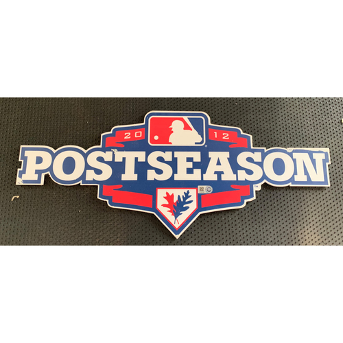 Photo of 2012 Post-Season Displayed in Tunnel Leading From Home Clubhouse to Home Dugout at Globe Life Park