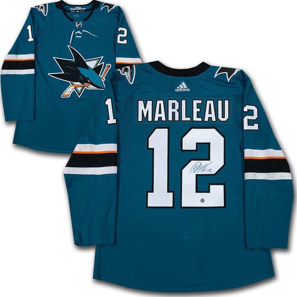 Patrick Marleau Autographed San Jose Sharks adidas Pro Jersey