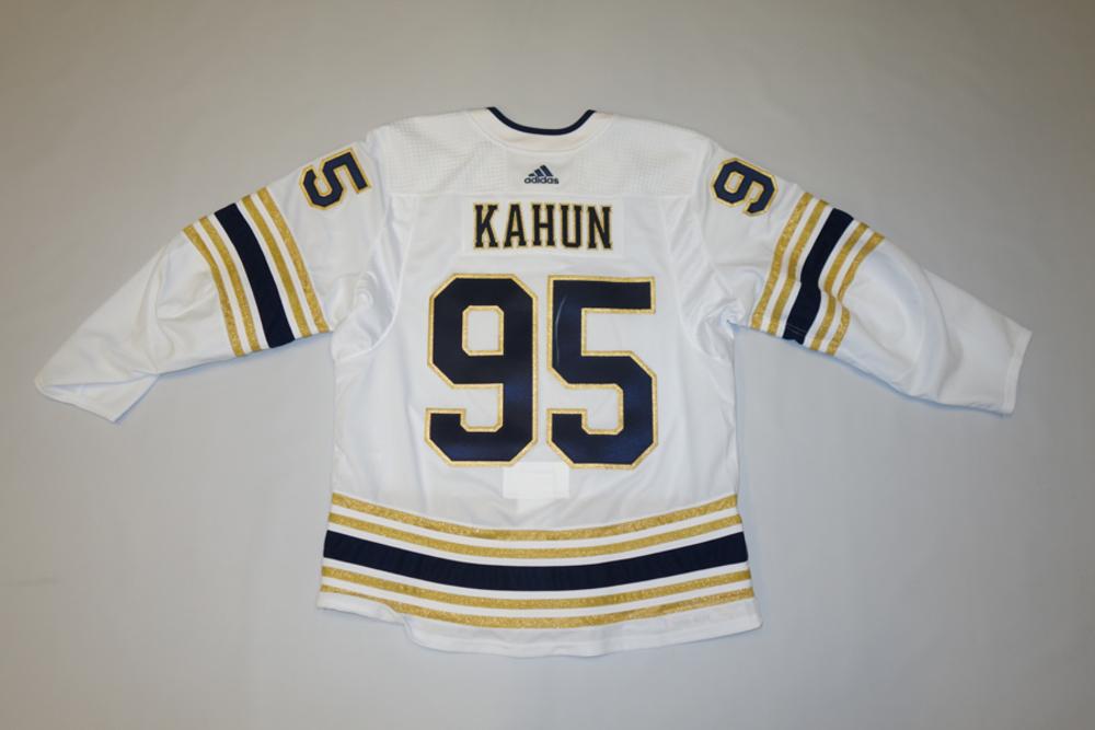 Dominik Kahun 2019-20 Buffalo Sabres 50th Alternate Jersey Set 2