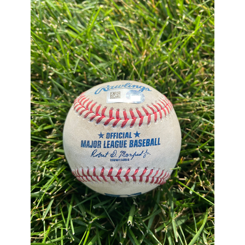 Photo of Cardinals Authentics: Game Used Baseball Pitched by Ryan Helsley to Miguel Sano * Home Run 2RBI*