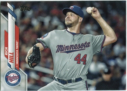 Photo of 2020 Topps #413 Rich Hill