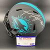NFL - Dolphins Xavian Howard Signed Eclipse Helmet