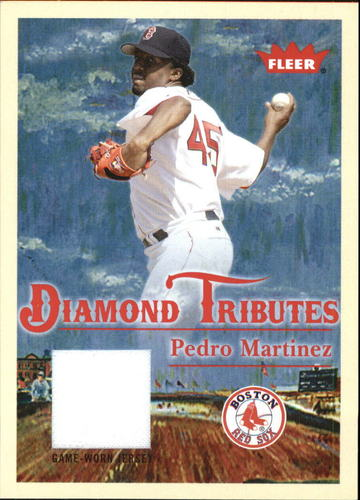 Photo of 2005 Fleer Tradition Diamond Tributes Game Used #PM Pedro Martinez Jsy