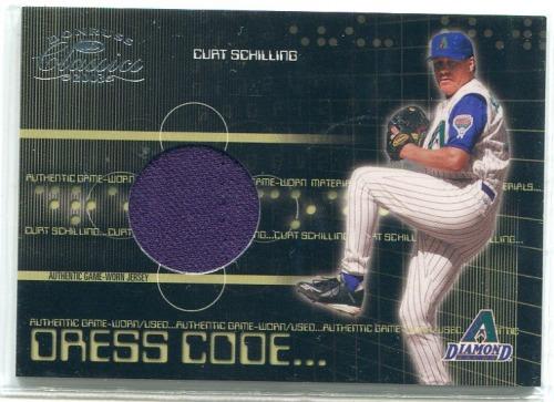 Photo of 2003 Donruss Classics Dress Code #24 Curt Schilling Jsy/200